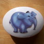 fil figürlü sabun modeli