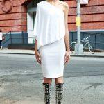 givenchy beyaz elbise modeli