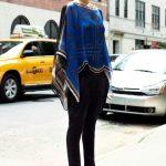 givenchy mavi bluz ve şalvar pantolon modeli