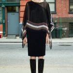 givenchy siyah bluz ve elbise modeli