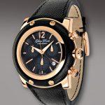 glam rock siyah saat modeli