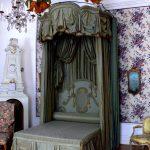 haki cibinlikli yatak odası modeli