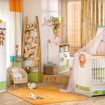 hayvan figürlü bebek odası modeli