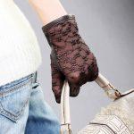 işlemeli eldiven modeli