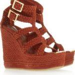 jimmy choo dolgu topuk ayakkabı modeli