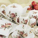 kütahya porselen rönesans desenli kahvaltı takımı