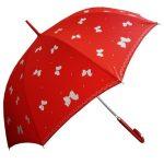 kırmızı fiyonklu şemsiye modeli