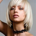 kaküllü kısa saç modeli