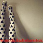kalpli mus çorap modeli