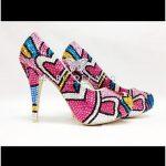 kalpli taşlı ayakkabı modeli trend