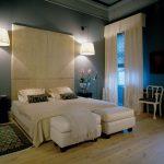 krem modern lüx yatak odası modeli