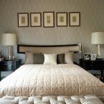 krem rengi lüx yatak odası modeli