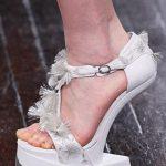 krem topuksuz ayakkaı modeli