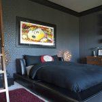 laci gri modern yatak odası modeli