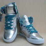 lame bilekli spor ayakkabı modeli