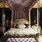 lila asil yatak odası modeli