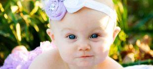 Bebek Saç Bandı Modelleri