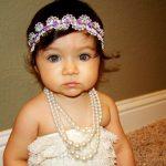 lila dantel saç bandı modeli