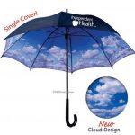 müzikli gökyüzü detalı şemsiye modeli