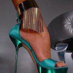 mavi bilekli ayakkabı modeli