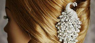 Yeni Taraklı Saç Toka Modelleri