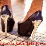 metal topuk ayakkabı modeli