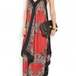 michael kors kırmızı elbise modeli