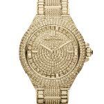 michael kors tasarım altın saat modeli