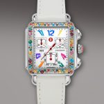 michele watcher tasarım renkli saat modeli