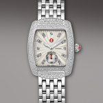 michele watcher tasarım taşlı saat modeli