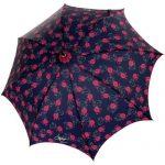 minik çiçekli şemsiye modeli
