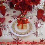 noel temalı tabak dekorasyon modeli