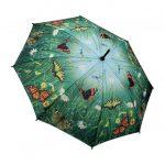 orman kelebek detaylı şemsiye modeli