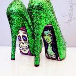 rakçı yeşil ayakkabı modeli yeni