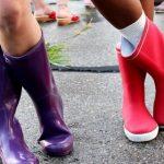 renkli farklı yağmurluk çizme modelleri