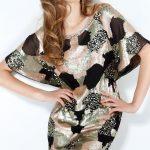 renkli payetli gece elbisesi modeli