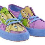 renkli spor ayakkabı modeli