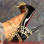 rugan zincirli ayakkabı modeli