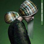 sıra dışı tasarım saç modeli