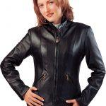 sade siyah byan deri ceket modeli