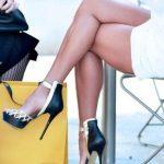 siyah beyaz ayakkabı modeli