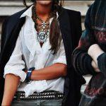 siyah ceket beyaz gömlek modeli