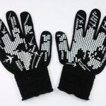 siyah farklı eldiven modeli