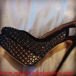 siyah file ayakkabı modeli