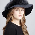 tasarım kürklü şapka modeli