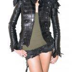 timsah derisi ceket modeli
