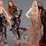 transparan gece elbisesi modelleri modeli