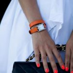 turuncu minik kasalı spor bayan saat