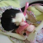 uykucu porselen bebek modeli