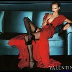 valentino kırmızı abiye modeli